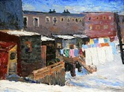 """Winter Washing, Sudbury"""